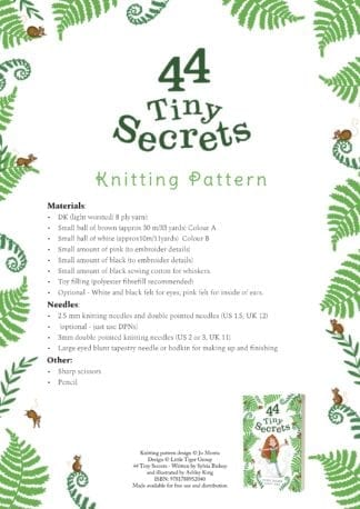 44 Tiny Secrets Knitting Pattern